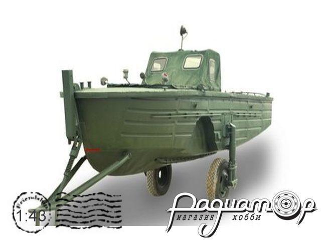 Сборная модель Буксирно-моторный катер БМК-130 DNK192