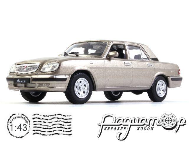 Автолегенды СССР и Соцстран №270, ГАЗ-31105 «Волга» (2004)