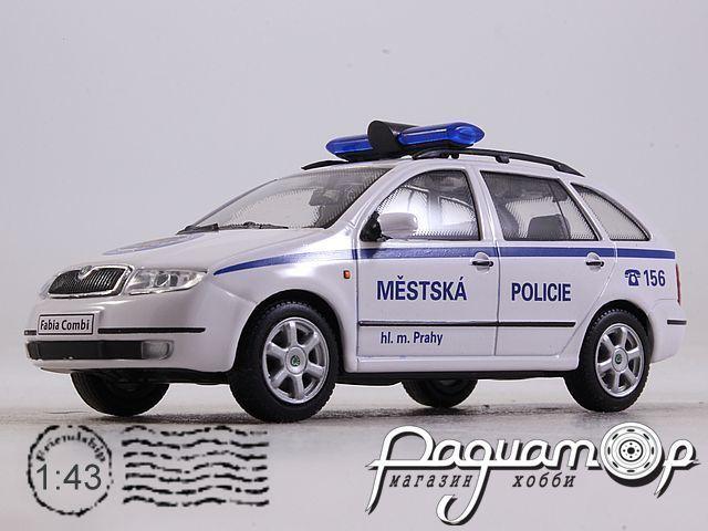Skoda Fabia Combi Mestska Policie (2000) 143ABX-004XB (VZ)