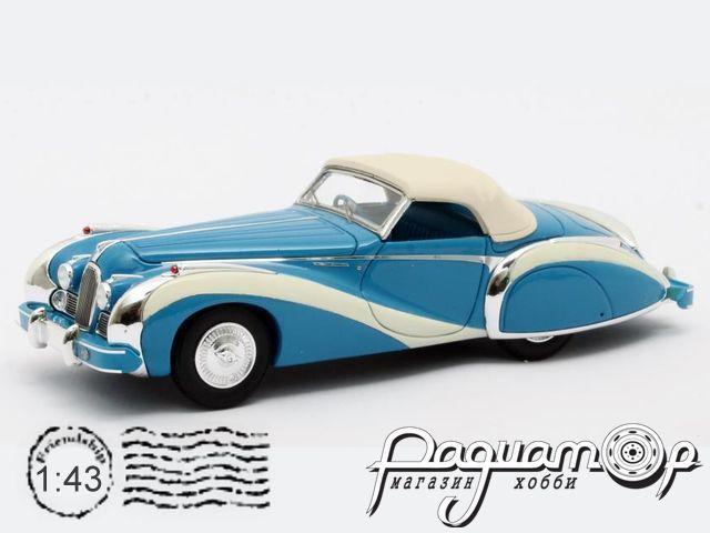 Talbot-Lago T26 GS Cabriolet Saoutchik №110110 (1948) MX51904-042