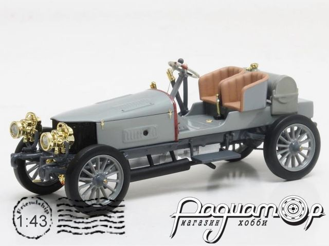 Spyker 60-hp four-wheel drive racing car (1903) MXLM02-1806