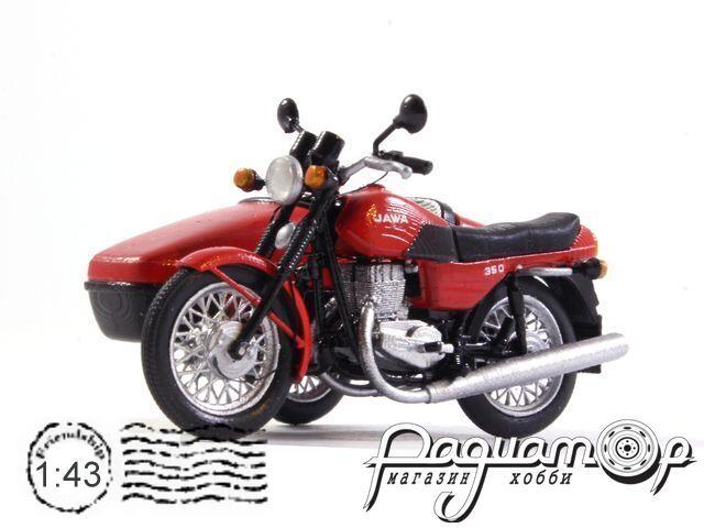 Jawa 638 с коляской Велорекс-562 (1984) jawa4