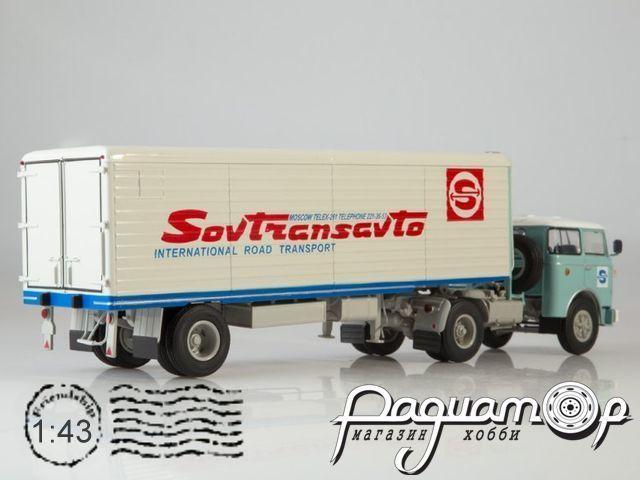 Skoda 706 MTTN с полуприцепом ALKA N12CH Sovtransavto (1957) SSM7059