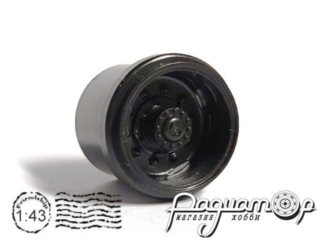 Диск задний ЛАЗ-695Н с малой ступицей (КамАЗ) MM302