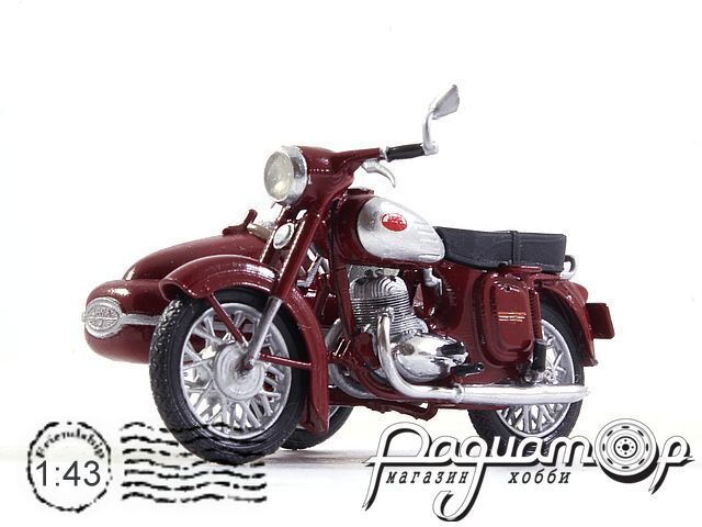 Jawa 360 c коляской Велорекс-560 (1965) jawa3601