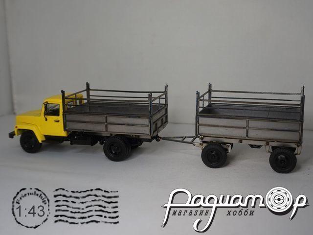 Набор для сборки Автопоезд ГАЗ-6008 Сельхозник MM2078