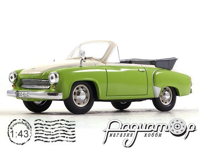 Wartburg 311 Open Convertible (1959) IST004 (PV)