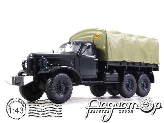 ЗиЛ-157 бортовой с тентом (1958) SSM1018