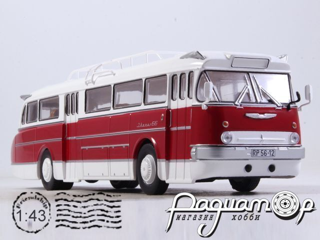 Наши Автобусы №6, Ikarus 66 (1955)