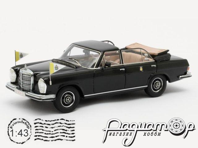 Mercedes-Benz 300SEL Landaulette, Vaticaanstad (1967) MX41302-061