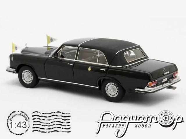 Mercedes-Benz 300SEL Landaulette, Vaticaanstad (1967) MX41302-062