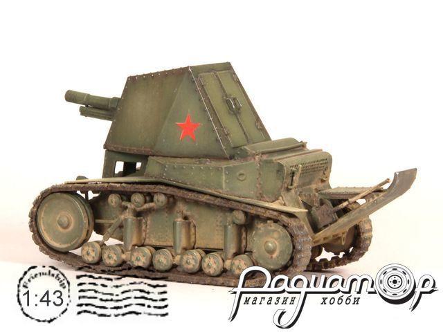 СУ-18 САУ (со следами эксплуатации) (1930) su18-2