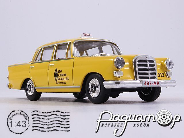 Mercedes-Benz 200 Taxi Bruxelles (1962) OLL028