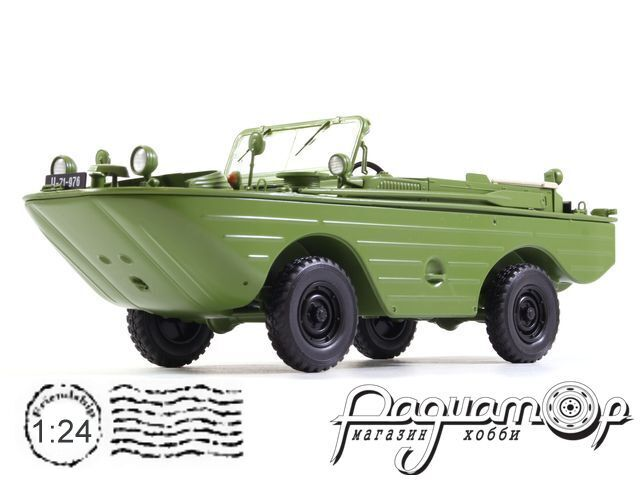 Легендарные Советские Автомобили №53, ГАЗ-46 (1953)