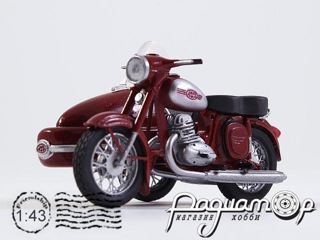 Jawa 350 Kyvacka с коляской (1966) 190302
