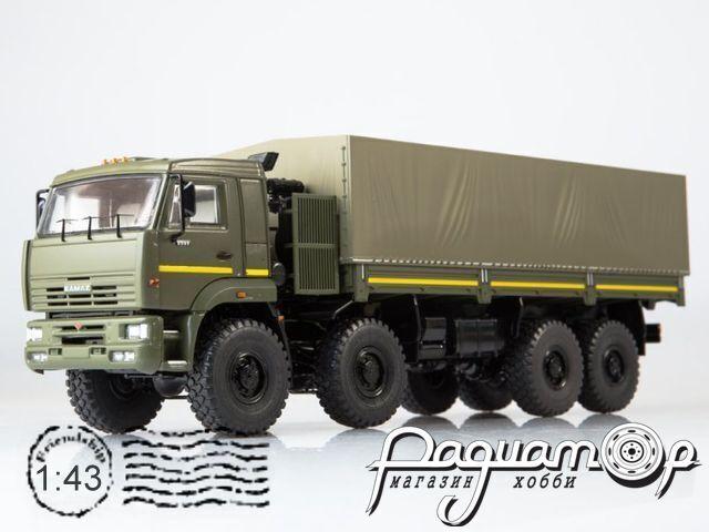 КамАЗ-6560 бортовой c тентом (2000) SSM1383