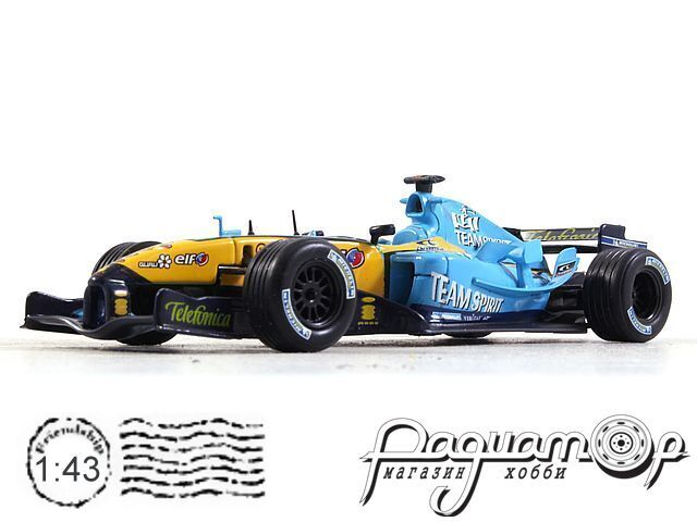Formula 1 Auto Collection №28, Renault R25 Фернандо Алонсо (2005)