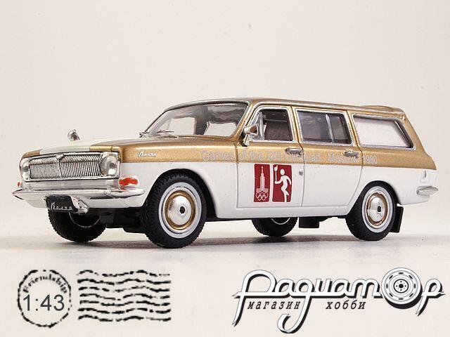 ГАЗ-24-02 «Волга» Сопровождение олимпийского огня (1980) 200200