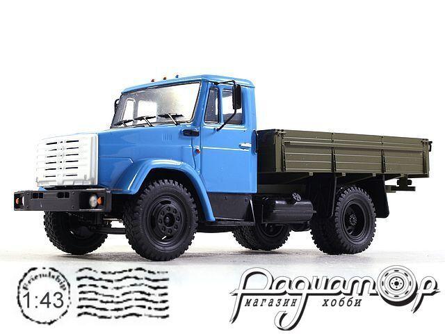 Легендарные Грузовики СССР №16, ЗиЛ-4333 (1986)