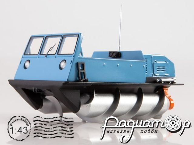 ЗИЛ-2906 Шнековый снегоболотоход (1979) 0092MP