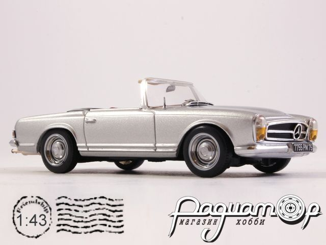 Mercedes-Benz 230SL (W113) Roadster (1963) CLC183 (TI)