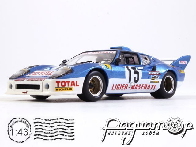 Ligier JS2 (Maserati) №15, Le Mans (1974) LMC137 (TI)