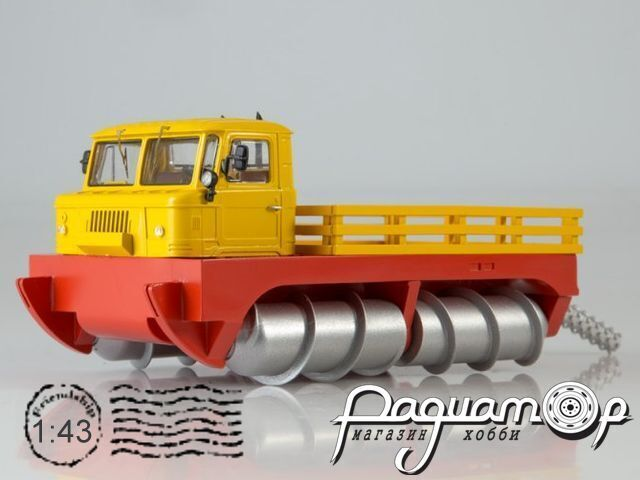 ГПИ-76 шнековый снегоболотоход (1970) 0091MP