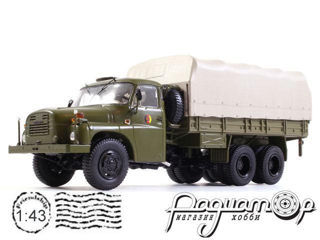 Tatra T148 бортовой с тентом (1969) PCL47105