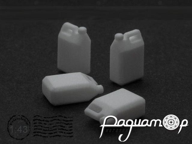 Набор Канистра пластиковая 10л (4шт) SEC007