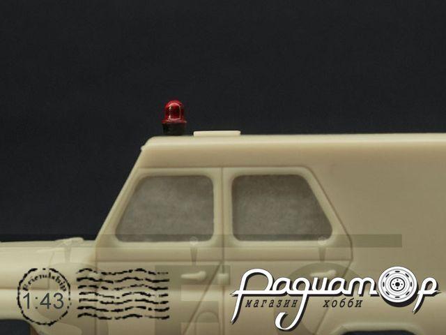 Набор Проблесковый маяк LBS-5 «Elektra» (красный) (2шт) SEC016