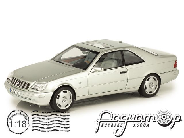 Mercedes-Benz S-Class S600 Coupe (1998) 183446