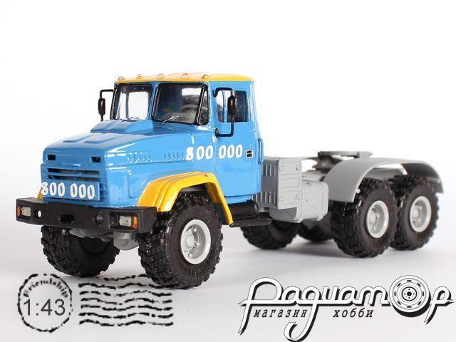 КрАЗ-6446 седельный тягач, юбилейный «800000» (1994) 1-105