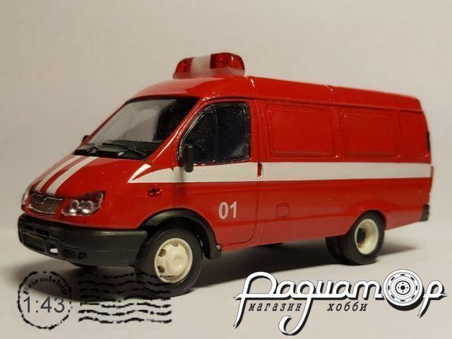 ГАЗ-2705 «Газель» фургон пожарный (2000) 13731