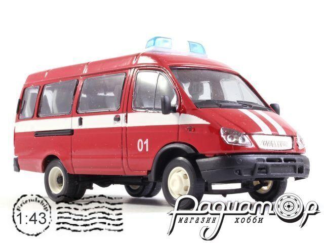 ГАЗ-2705 «Газель» автобус пожарный (2000) 13761