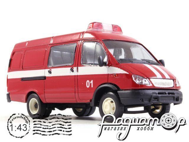 ГАЗ-2705 «Газель» комби пожарная (2000) 13781