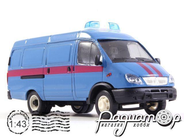 ГАЗ-2705 «Газель» фургон Судебные приставы (2000) 13861