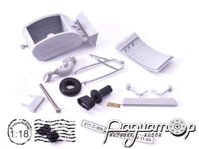 Сборная модель Прицеп PAV-40 для Jawa (1/18) PAV40KIT