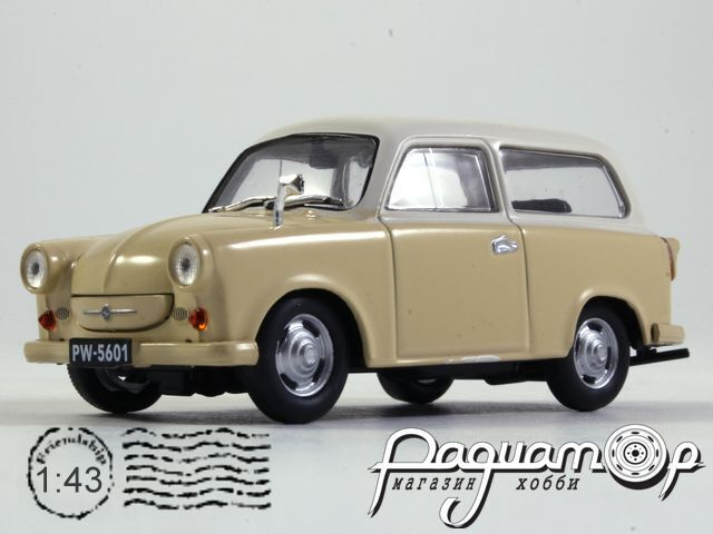Regi Idok Legendas Autoi №8, Trabant P50 Kombi (1957)