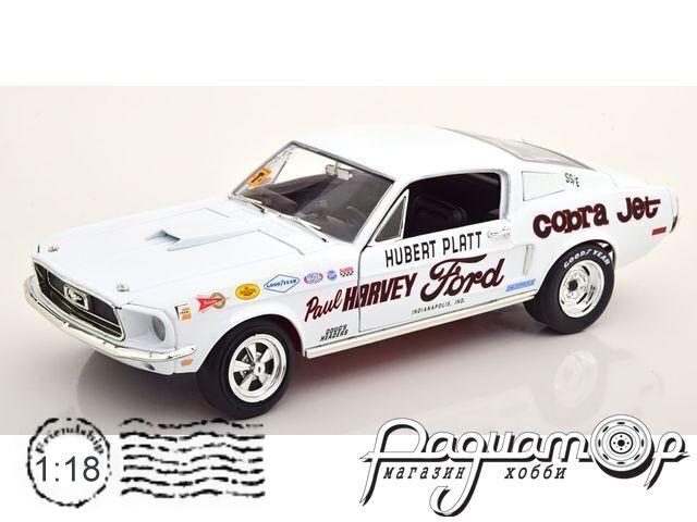 Ford Mustang 2+2 Cobra Jet, Hubert Platt (1968) AW247/06