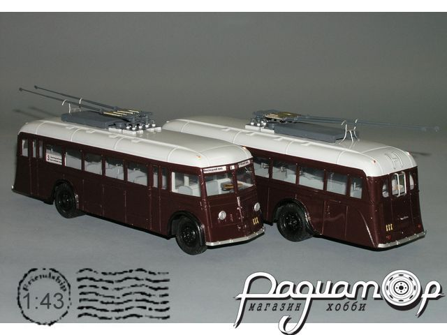 Троллейбус ЯТБ-1, Ленинград (1936) Р1-03.2