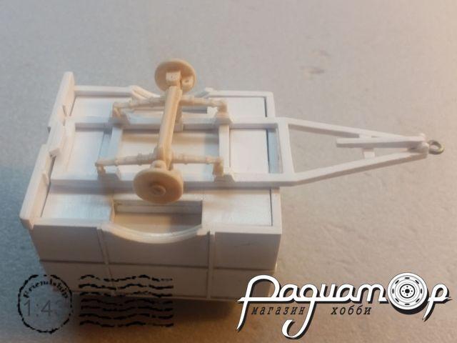 Сборная модель Прицеп к хлебному фургону DNK201