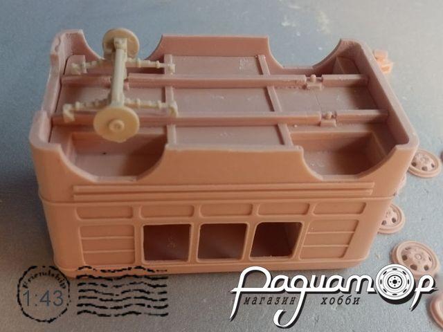 Сборная модель Прицеп-автолавка DNK200
