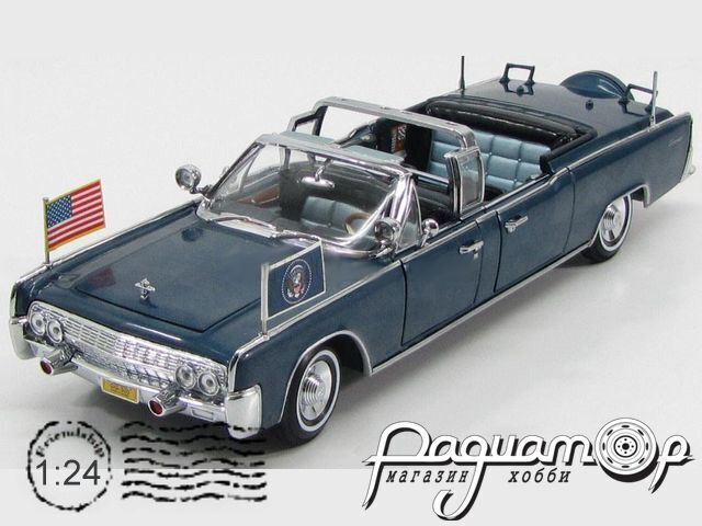 Lincoln X-100 Presidential Limousine Kennedy (1961) LDC24048