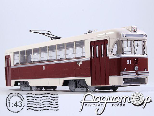 Трамвай РВЗ-6М2 (1974) SSM4045