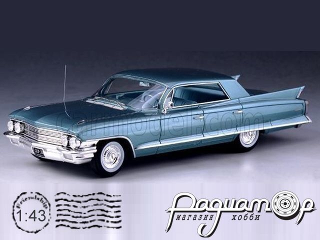 Cadillac Sedan Deville 4 Windows (1962) GLM119301