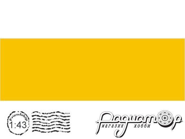 Декаль Цветовое поле Желтый (194х65мм) ED052