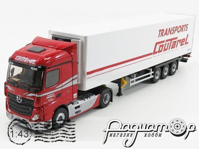 Mercedes-Benz Actros 5 1845 Streamspace Truck Semi-Frigo Countarel Transports (2019) 116728
