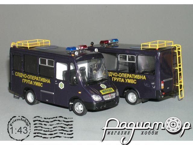 БАЗ-2216 «Дельфин» міліція (2004) VZ-22