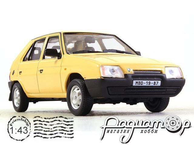 Skoda Favorit 136L (1988) 143ABS-708GC