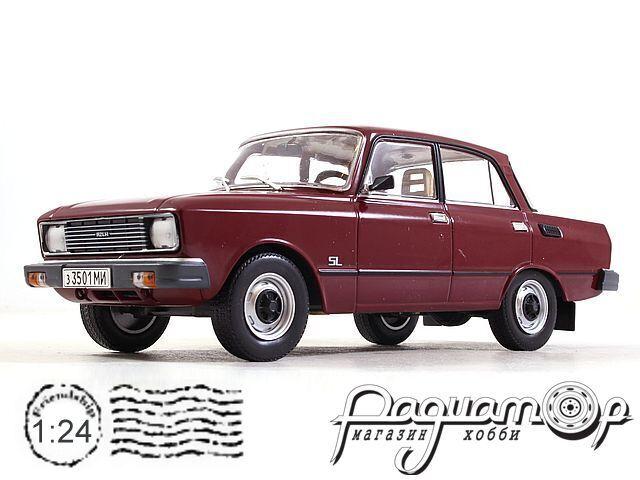 Легендарные Советские Автомобили №61, Москвич-2140SL (1981)